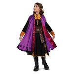 Girls Frozen Anna Prestige Halloween Costume