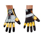 Mens Bumblebee Transformers Halloween Gloves