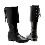 Sparrow Mens Halloween Pirate Boots