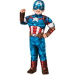 Toddler Deluxe Captain America Super Hero Adventures Costume