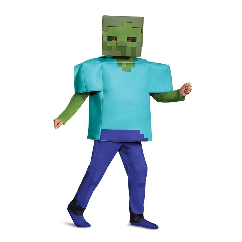 boys minecraft steve halloween costume – minecraft costumes