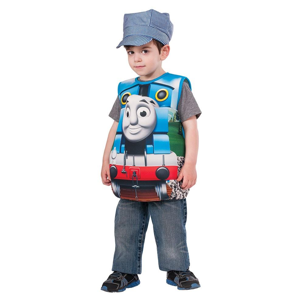 boys all aboard train conductor costume size m/l 3t-6t