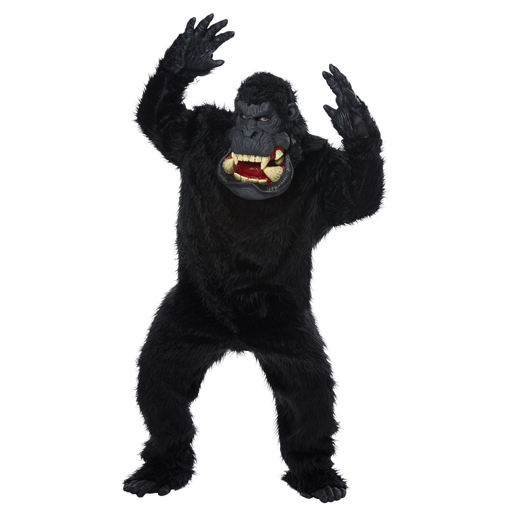 adult rampage george ape overhead latex mask rampage costumes king kong costumes