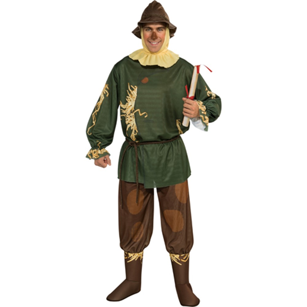 adult dark scarecrow halloween mask – wizard of oz costumes