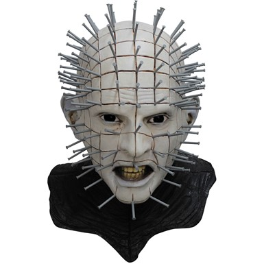adult hellraiser iii pinhead deluxe halloween mask