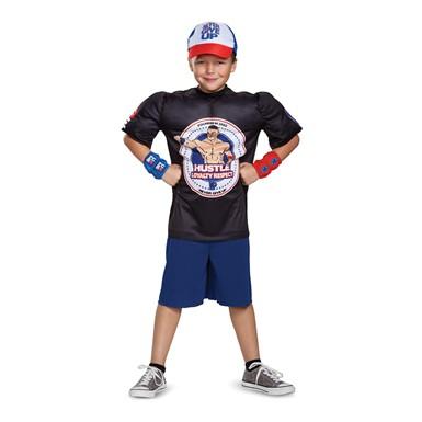 Boys John Cena Classic Muscle WWE Wrestler Costume  sc 1 st  Costume Kingdom & Boys John Cena Classic Muscle WWE Wrestler Costume u2013 WWE Halloween ...