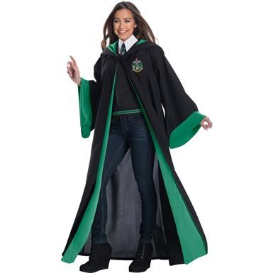 Elegant Adult Slytherin Student Harry Potter Costume