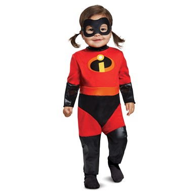 Girls The Incredibles 2 Violet Infant Costume with Skirt  sc 1 st  Costume Kingdom & Infant The Incredibles 2 Violet Halloween Costume u2013 Baby Incredibles ...