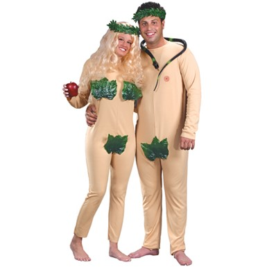 Adam & Eve Couples Halloween Costume