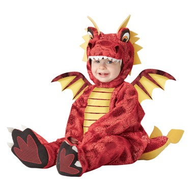 Adorable Dragon Infant Romper Halloween Costume