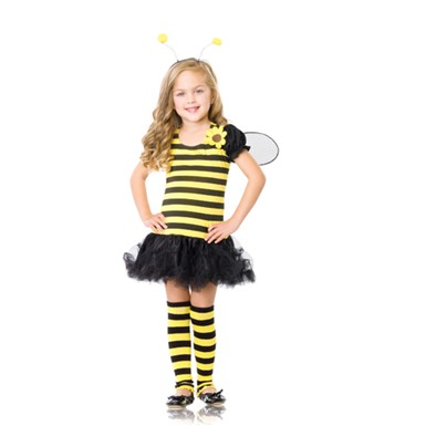 Adorable Honey Bee Kids Halloween Costume