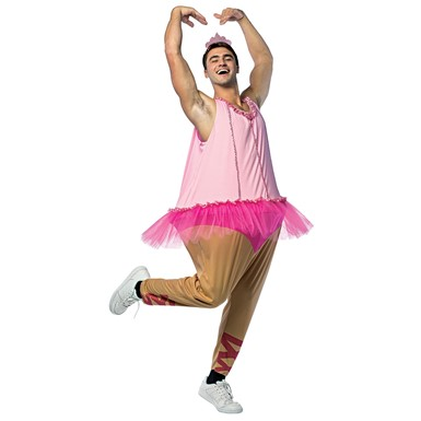 Adult Ballerina Hoopster Funny Halloween Costume