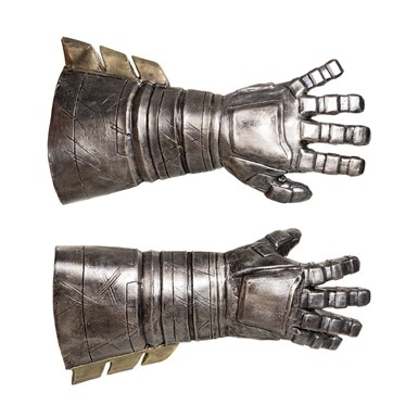 Adult Batman Armored Deluxe Latex Gauntlets Gloves