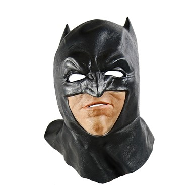 Adult Batman Overhead Foam Latex Mask with Cowl
