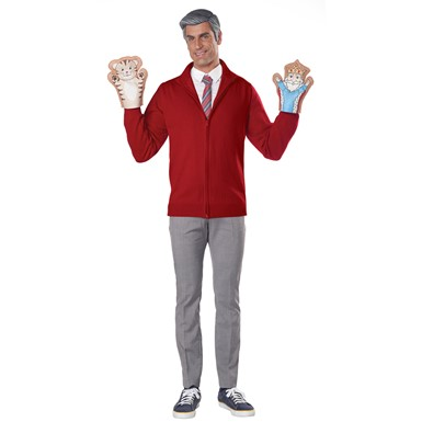 Adult Be My Neighbor Mr Rogers Costume Kit