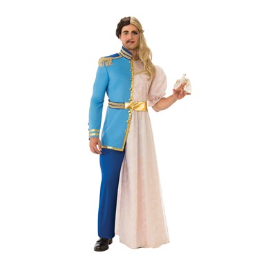 dc25fd41322 Adult Be Your Own Date Prince Princess Costume