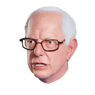 Adult Bernie Sanders Deluxe Political Mask for Costume