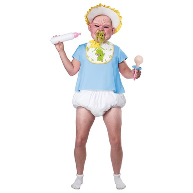 Adult Big Booger Baby Mens Halloween Costume