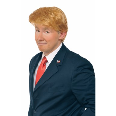 Adult Billionaire Donald Trump Costume Wig