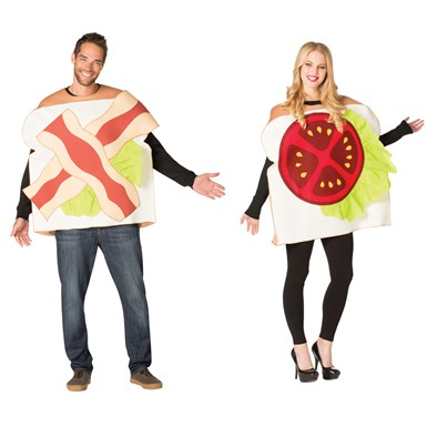 Adult BLT Couples Halloween Costume