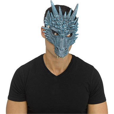 Adult Blue Ice Dragon Viserion Character Mask