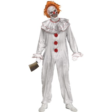 Adult Carnevil Clown Pennywise It Costume