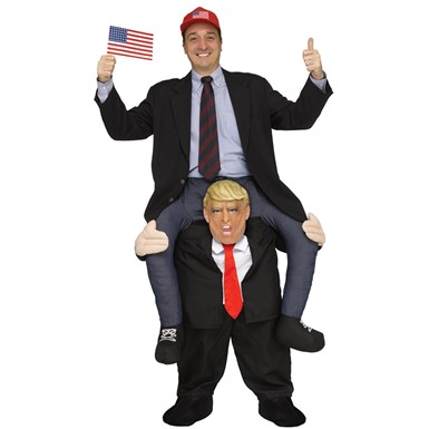 Adult Carry Me Mr. President Halloween Costume