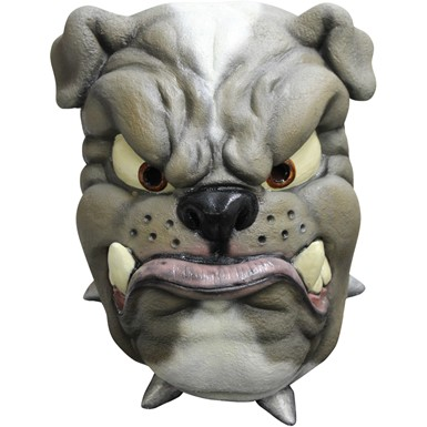 Adult Cartoon Bulldog Halloween Animal Mask