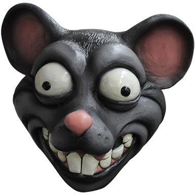 Adult Cartoon Rat Halloween Animal Mask