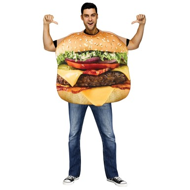 Adult Cheeseburger Costume size Standard