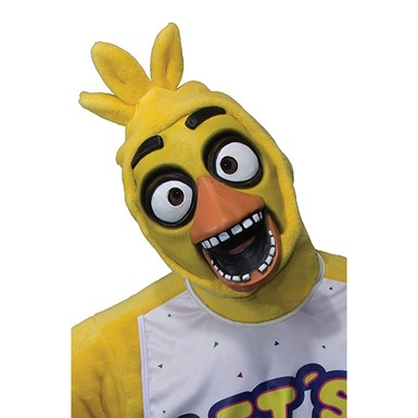 Adult Chica the Chicken 3/4 Costume Mask