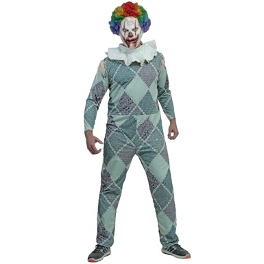 Adult Clown Movie Scary Clown Costume