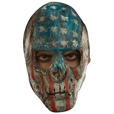 Adult Creepy Patriotic The Purge Mask