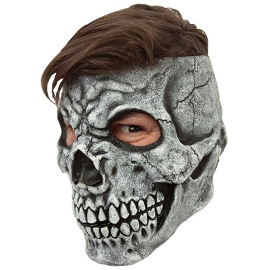 Adult Customizable Hairstyle Skull Mask