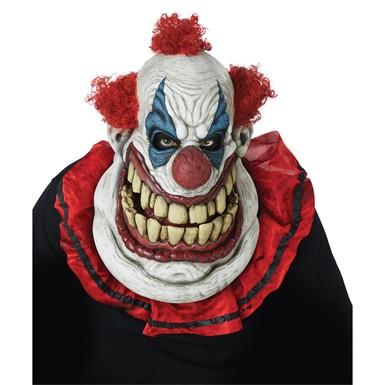 Adult Fatty McClownface Ani-Motion Clown Mask