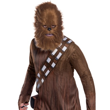 Adult Faux Fur Chewbacca Star Wars Mask