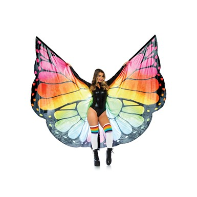 Adult Festival Butterfly Wings Halter Cape Accessory