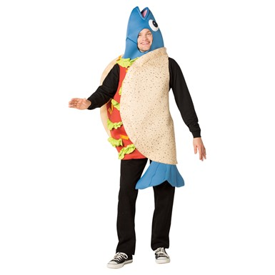 Adult Fish Taco Funny Halloween Costume