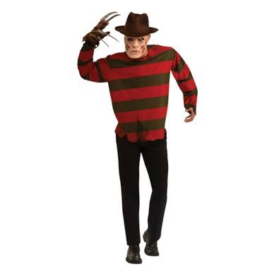 adult freddy krueger mens halloween costume