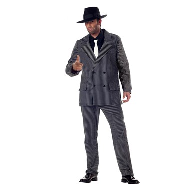Adult Gangster Suit Halloween Costume