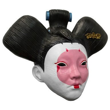 Adult Ghost in the Shell Geisha Halloween Mask