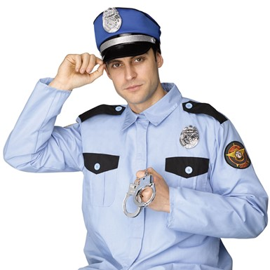 Adult Instant Policeman Costume Kit