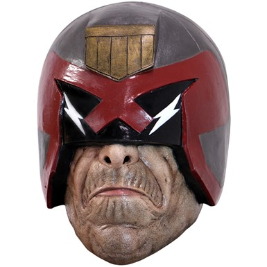 Adult Judge Dredd Latex Costume Mask