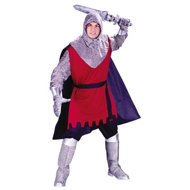 Adult Medieval Knight Warrior Fighter Halloween Costume