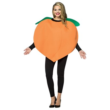 Adult Peach Fruit Halloween Costume