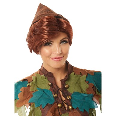 Adult Peter Pan Auburn Disney Wig