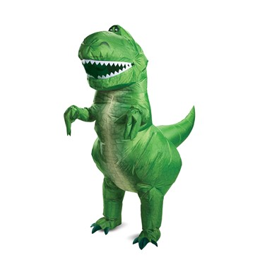 Adult Rex Inflatable Dinosaur Disney Toy Story Costume