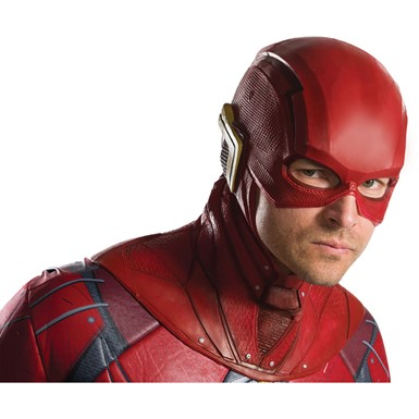 Adult The Flash Overhead Latex Costume Mask