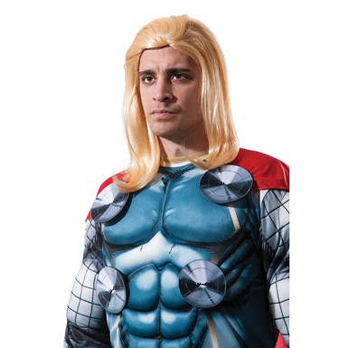 Adult Thor Marvel Halloween Costume Wig