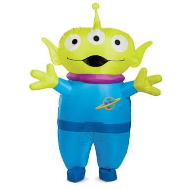 Adult Toy Story Alien Inflatable Disney Costume
